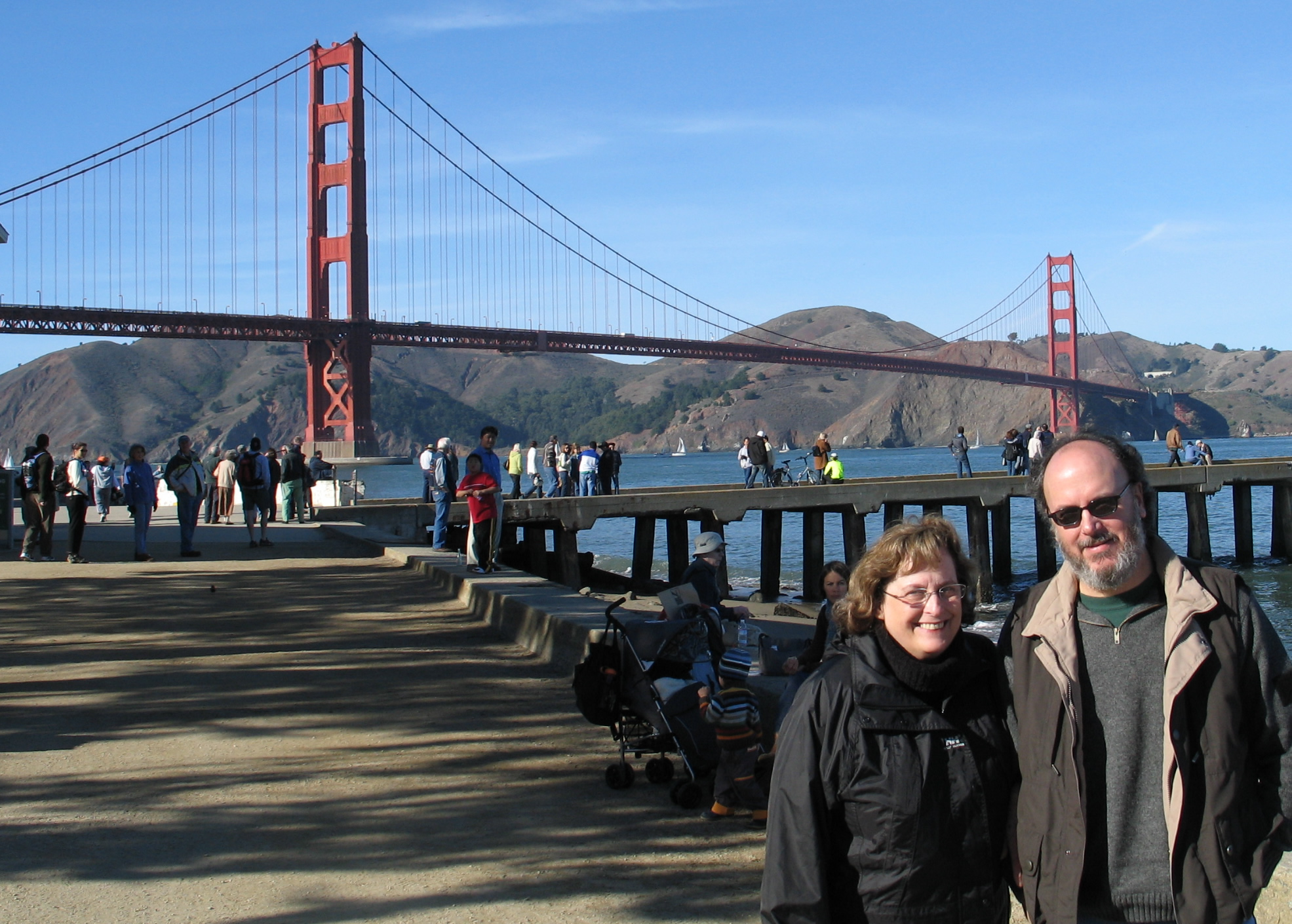 Peter and Billie Jo at Crissy Field